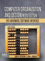 Computer Organization and Design MIPS Edition PDF