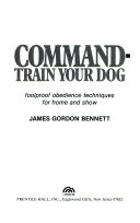 Command-Train Your Dog