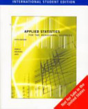 Applied Statistics for the Behavioral Sciences  International Edition