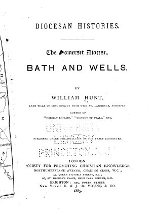 The Somerset Diocese  Bath and Wells PDF