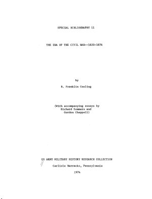 The Era of the Civil War  1820 1876 PDF