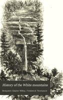 History of the White Mountains PDF