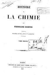 Histoire de la chimie: Volume2