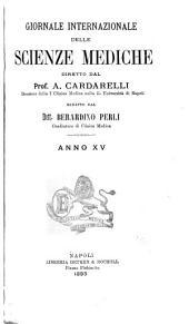 Giornale internazionale delle scienze mediche: Volume 15