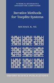 Iterative Methods for Toeplitz Systems PDF