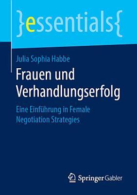 Frauen und Verhandlungserfolg PDF