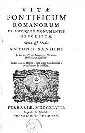 Vitae pontificum Romanorum ex antiquis monumentis descriptae