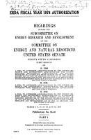 ERDA Fiscal Year 1978 Authorization PDF