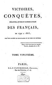 Victoires, conquêtes, revers et guerres civiles des Français, depuis les Gaulois jusqu'en 1792: Volume26