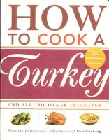 How to Cook a Turkey PDF