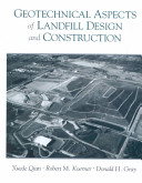 Geotechnical Aspects of Landfill Design and Construction PDF
