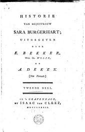 Historie van Mejuffrouw Sara Burgerhart: Volume 2