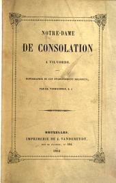Notre-Dame de Consolation à Vilvorde, monographie de cet établissement religieux