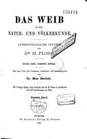 Das Weib in der Natur und Völkerkunde: anthropologische studien