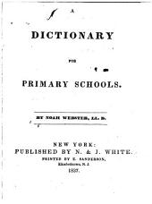 A Dictionary for Primary Schools