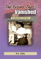 The Future That Vanished PDF