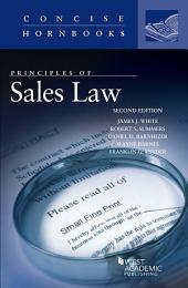 Principles of Sales Law: Edition 2