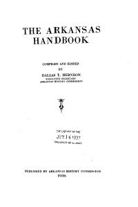The Arkansas Hand book
