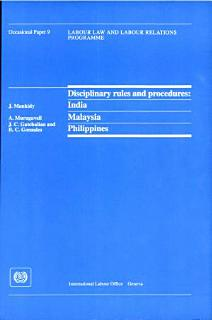 Disciplinary Rules and Procedures Book