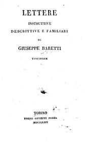 Lettere instruttive, descrittive e familiari