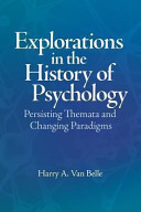 Explorations in the History of Psychology PDF