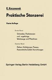 Schneiden, Flachstanzen und zugehörige Werkzeuge und Maschinen: Ausgabe 4