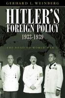 Hitler s Foreign Policy 1933 1939 PDF