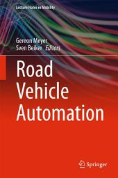Road Vehicle Automation