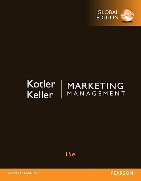 Marketing Management Global Edition