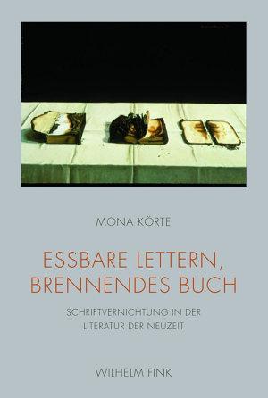 Essbare Lettern  brennendes Buch PDF