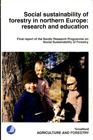 Social Sustainability of Forestry in Northern Europe PDF