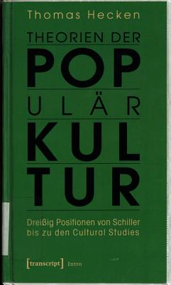 Theorien der Popul  rkultur PDF