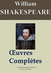 William Shakespeare : Oeuvres complètes — 53 titres (Nouvelle édition enrichie)