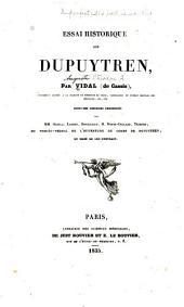 Essai historique sur Dupuytren