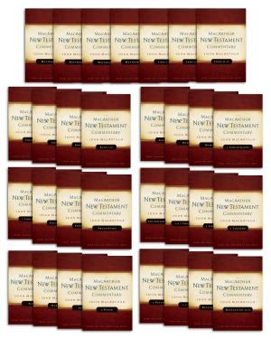 The MacArthur New Testament Commentary Set of 31 volumes