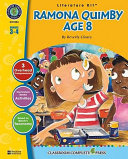 A Literature Kit for Ramona Quimby  Age 8 by Beverly Cleary PDF