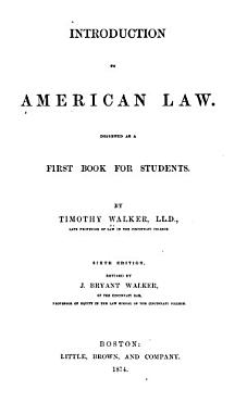 Introduction to American Law PDF