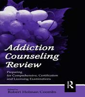 Addiction Counseling Review PDF