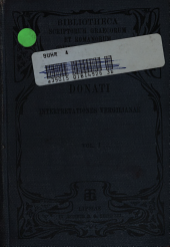 Tiberi Claudi Donati ad Tiberium Claudium Maximum Donatianum filium suum Interpretationes Vergilianae: primum ad vetustissimorum codicum fidem recognitas edidit Henricus Georgii ..., Volume 1