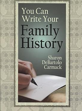 You Can Write Your Family History PDF