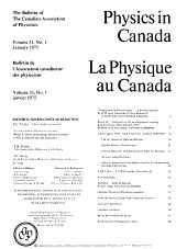 Physics in Canada PDF