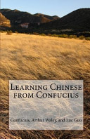 Learning Chinese from Confucius PDF