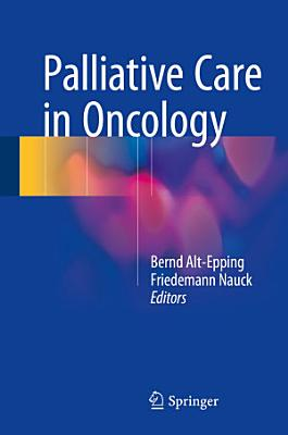 Palliative Care in Oncology