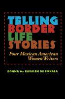 Telling Border Life Stories PDF