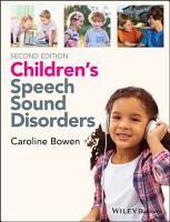 Children s Speech Sound Disorders PDF