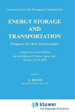 Energy Storage and Transportation  Prospects for New Technologies PDF