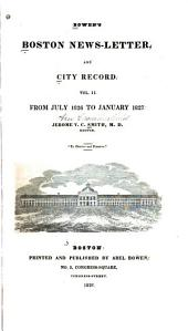 The Boston News-letter: And City Record, Volume 2