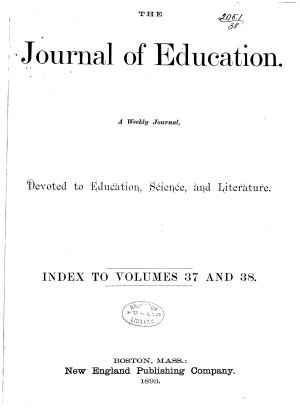The Journal of Education PDF