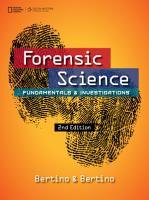 Forensic Science  Fundamentals   Investigations PDF