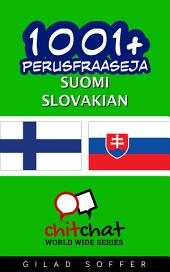 1001+ perusfraaseja suomi - Slovakian